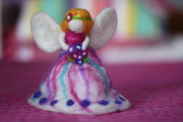 Jazzie's Felted Fairy