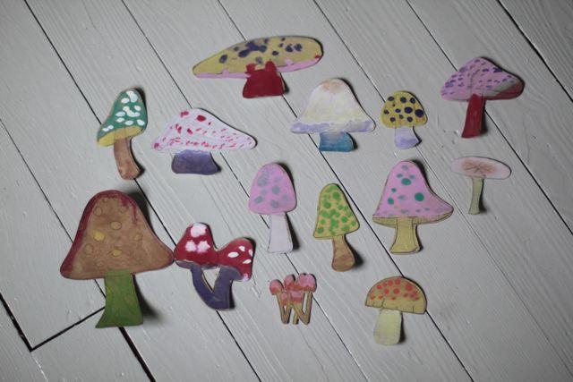 Carboard Mushroom