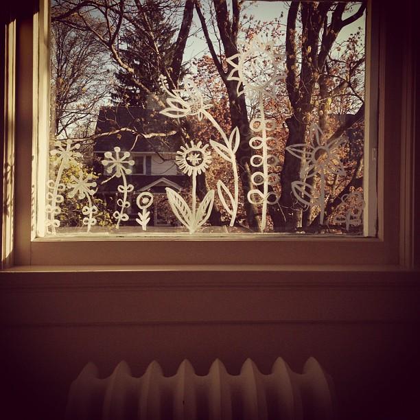 Painted Window Garden